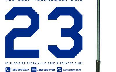 23th SITEM-STULZ PRO Golf Tournament 2019
