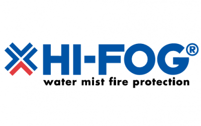 The HI-FOG fire suppression system is core to the multistage fire safety systems in IXcellerate data centers